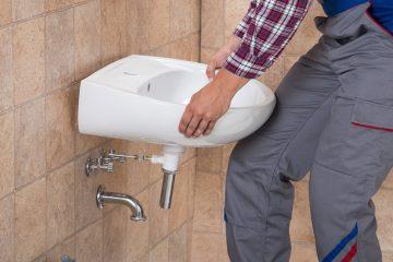 Travaux d'installation sanitaire avec H+2O Concepts près de Vevey